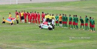 В Степанакерте состоялась ответная встреча футбольных сборных Карабаха и Абхазии