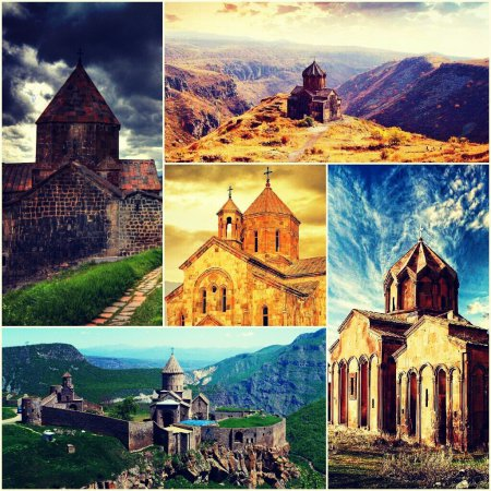 Фото дня 18.05.2014 - Храмы Армении