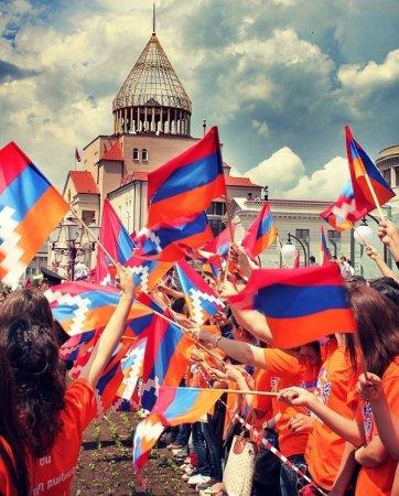 Фото дня 02.09.2014 - День независимости Арцаха