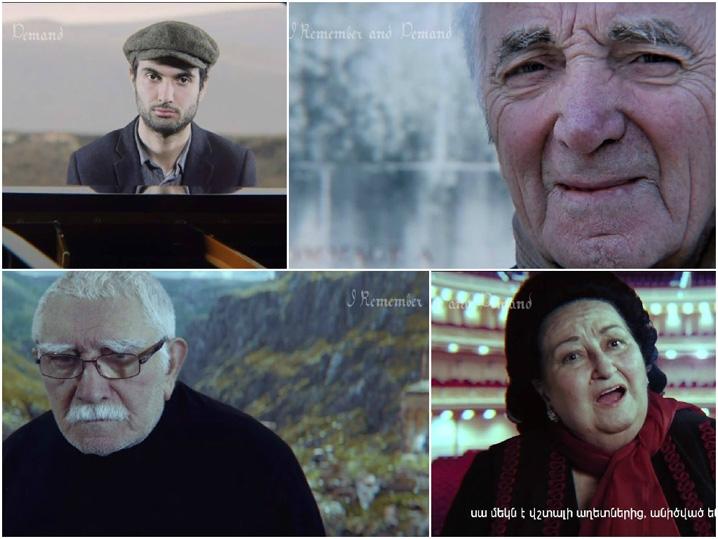 «Миллионы жизней»: мировые звезды в видеоклипе, посвященном 100-летию Геноцида армян.