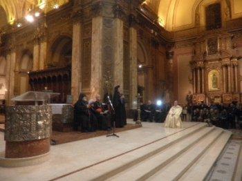 Армяне Аргентины поблагодарили Папу Римского