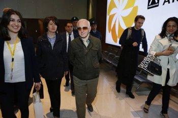 Шарль Азнавур прибыл в Ереван