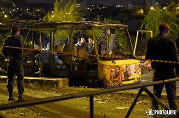 Личность одного из погибших при взрыве автобуса в Ереване установлена - СК