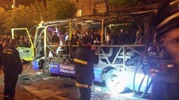 В Ереване взорвался пассажирский автобус: есть жертвы и пострадавшие