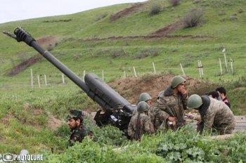 Азербайджан обстреливал ночью карабахские позиции из минометов и гранатометов