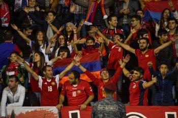 Сборная Армении по футболу проиграла датчанам в первом матче отборочного цикла ЧМ