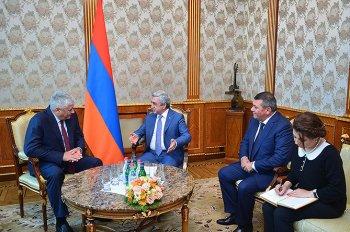 Саргсян: Армения и Россия должны совместно бороться с вызовами безопасности
