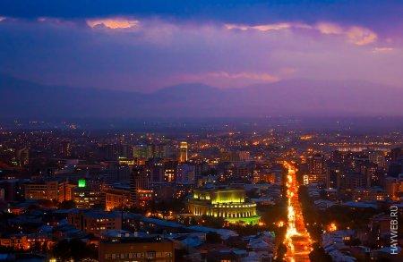 Shining Yerevan, Armenia
