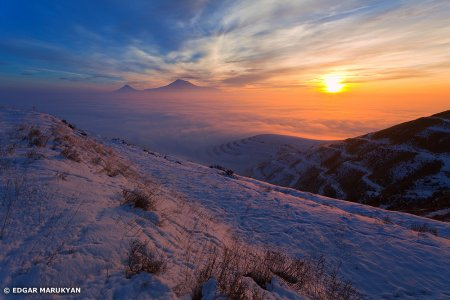 Winter in Armenia