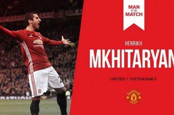 Мхитарян признан лучшим игроком матча в составе