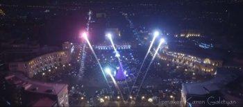 New Year Yerevan - Новогоднее настроение в Ереване