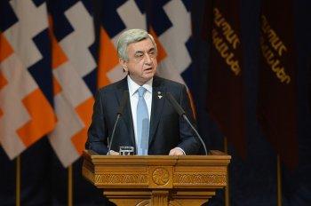 Президент Армении: все провокации против Арцаха получат достойный отпор