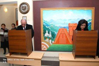Явка на конституционном референдуме в Карабахе составила 75,91%