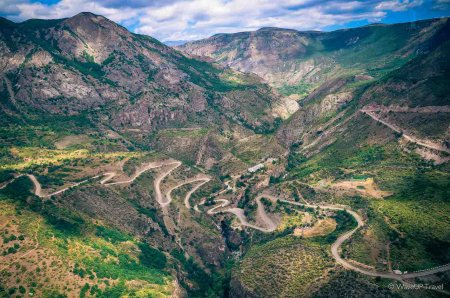 Road to Tatev, Armenia