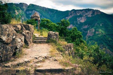 По дороге в Монастырь Татев