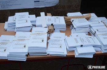 ЦИК Армении обработал данные почти 93,9% избирательных участков