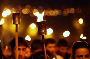 В Ереване началось факельное шествие в память жертв Геноцида армян
