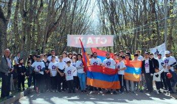 В Пятигорске состоялся забег, посвящённый памяти жертв геноцида армян