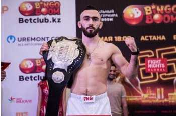 Вартан Асатрян стал чемпионом Fight Nights в наилегчайшем весе