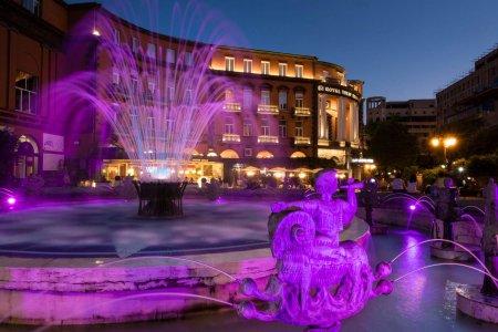 Вечерние огни Еревана
