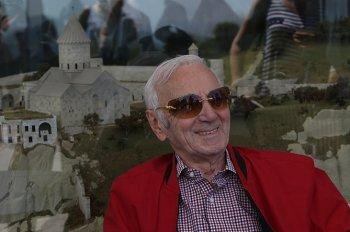 Шарль Азнавур в Армении: крещение в Татеве и открытие дома-музея