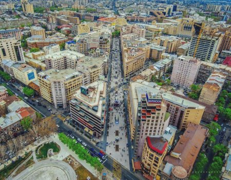 Yerevan sity, Armenia