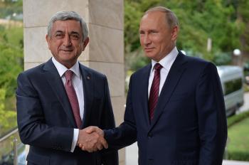 Саргсян: сотрудничество между Арменией и Россией расширяется