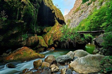 Hunot gorge, near Shushi, Artsakh, Armenia