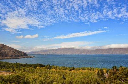 Уникальное озеро Севан, Армения (lake Sevan, Armenia)