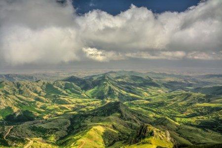 Вид с горы Дизапайт, Арцах